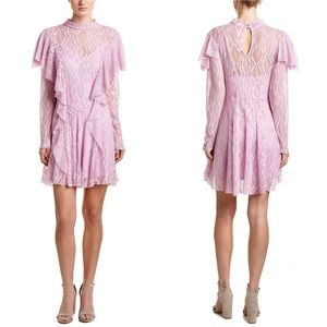 Free People Rock Candy Lace A-line Wisteria Dress